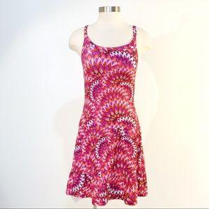 PRANA Medallion Floral Athletic Cami Dress XS